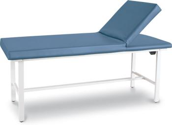 Winco 8570 Gas Adjustable Therapy Treatment Medical Exam Table, New, Blue