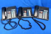Norstar Lot of 3 Phones, M-7208-B, 90 Day Warranty