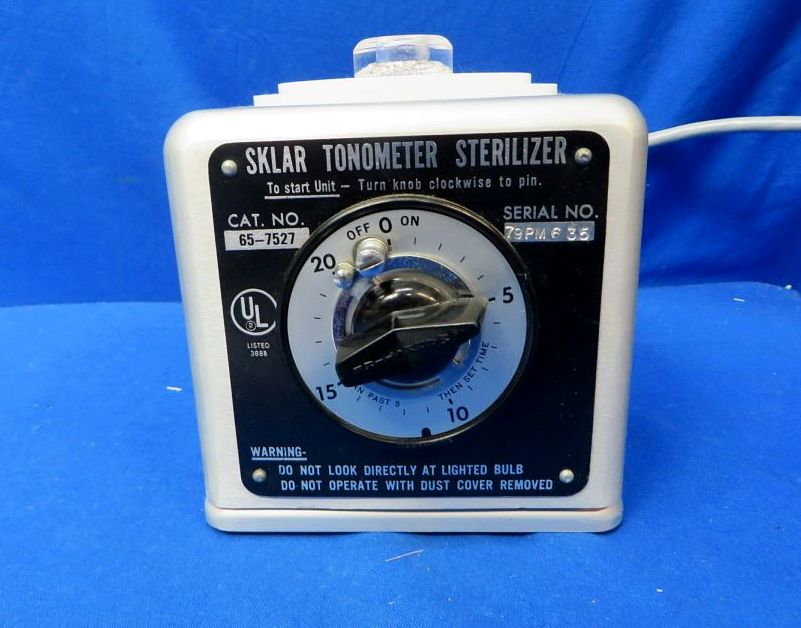 Sklar 65-7527 Tonometer Sterilizer, 90 Day Warranty