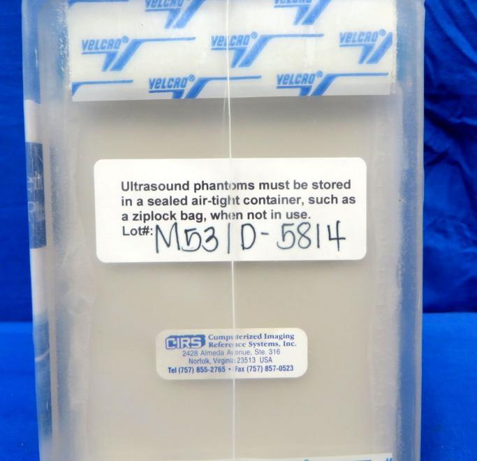 Cirs Model 053 Ultrasound Prostate Phantom, 90 Day Warranty
