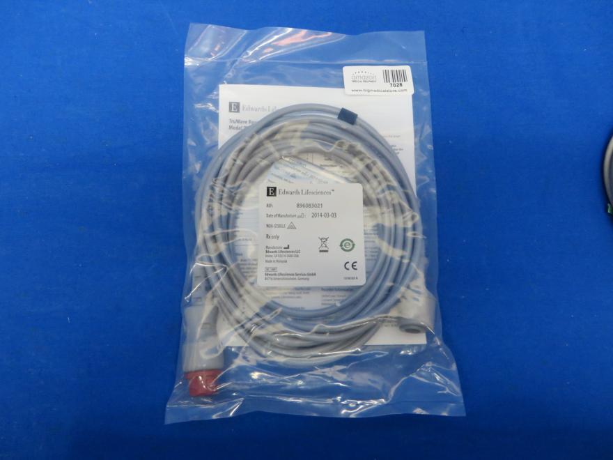 Edwards Lifesciences 896083021 Truwave Reusable Cable 90