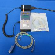 Nellcor N-85 Spo2 Monitor with CO2.Includes New Sp02 Fingerprobe,and Battery Charger, 90 Day Warranty