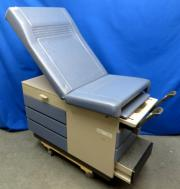 Midmark Ritter 104 Medical Exam Table with Stirrups, Blue, 90 Day Warranty