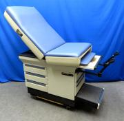 Midmark 404 Exam Table, Lake Blue with Drawer Strips, 90 Day Warranty