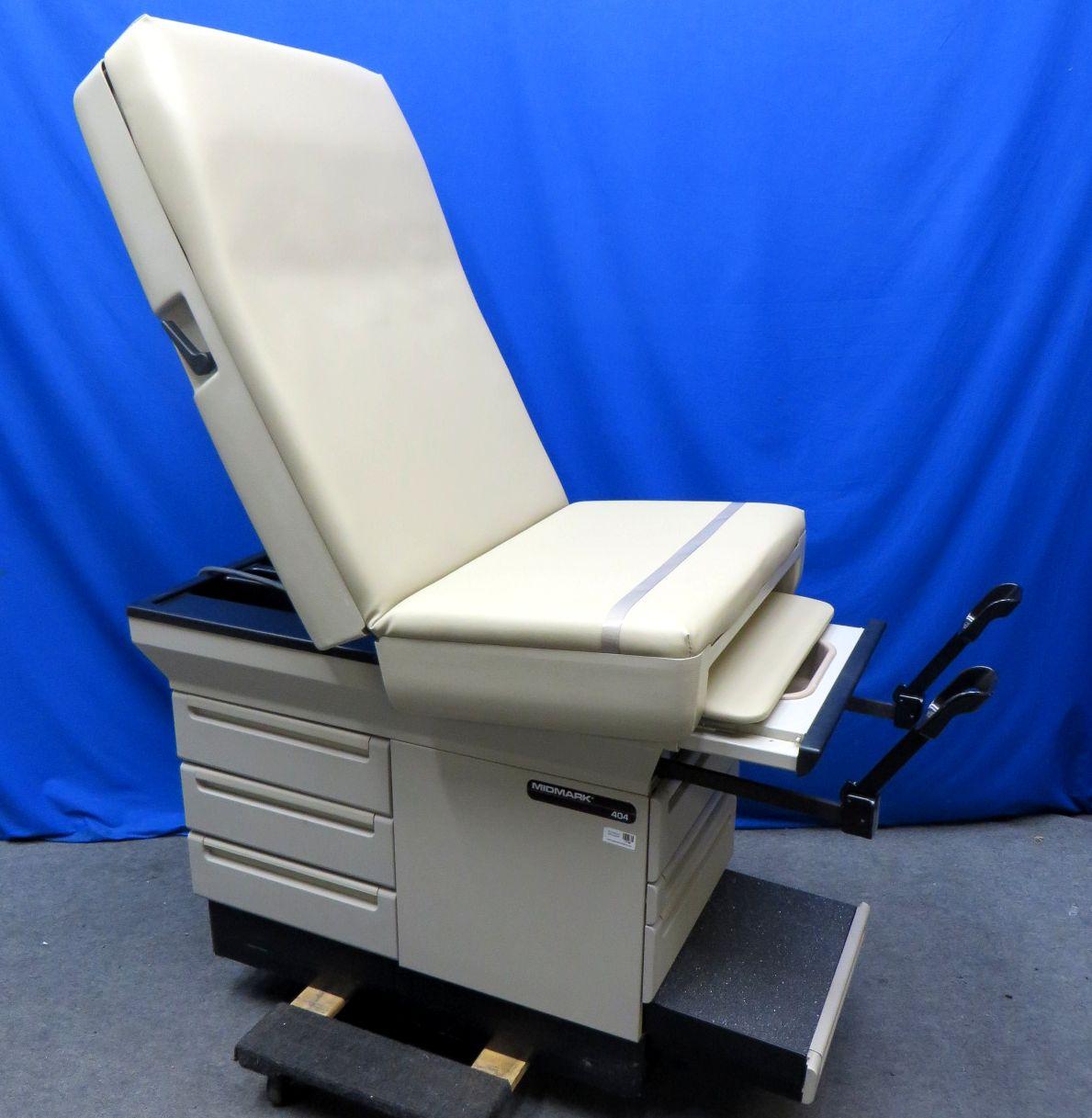 Midmark Ritter 404 Exam Table New Beige Upholstery 90