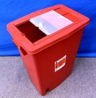 8938 Kendall Sharps Container Slide Top 18 Gal - 8938