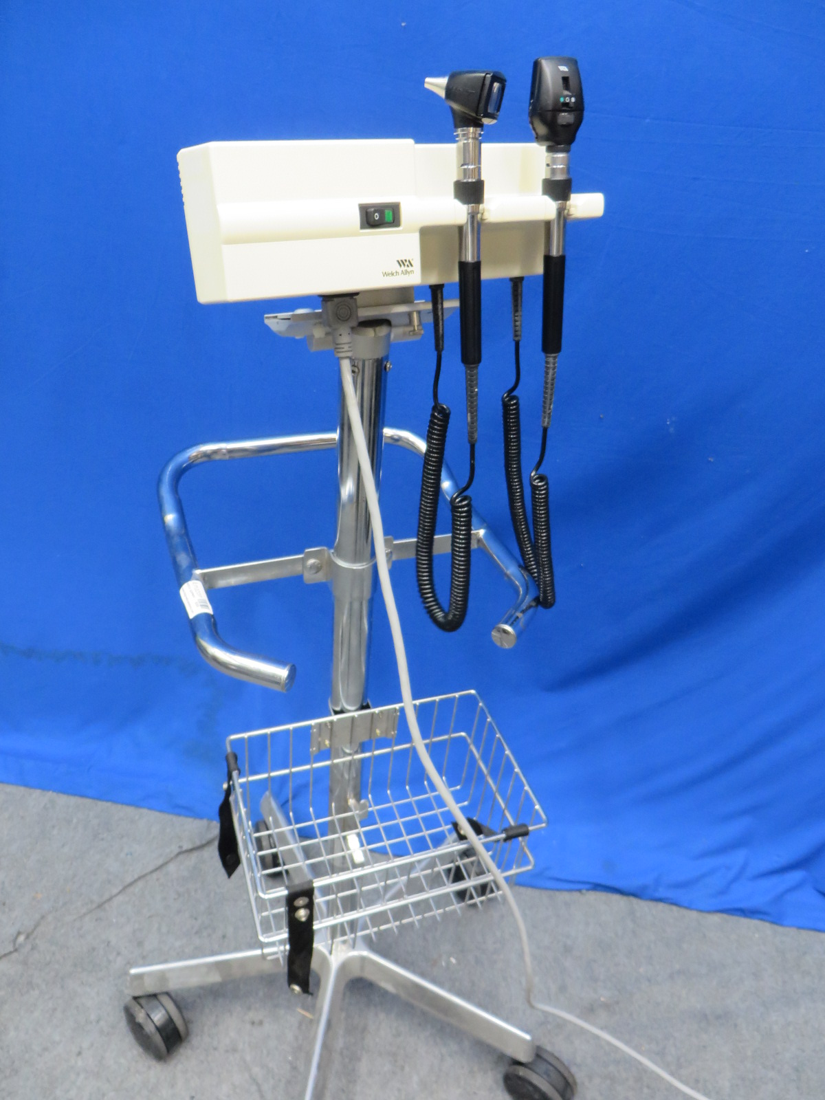 Welch Allyn 767 Wall Transformer With Otoscope And