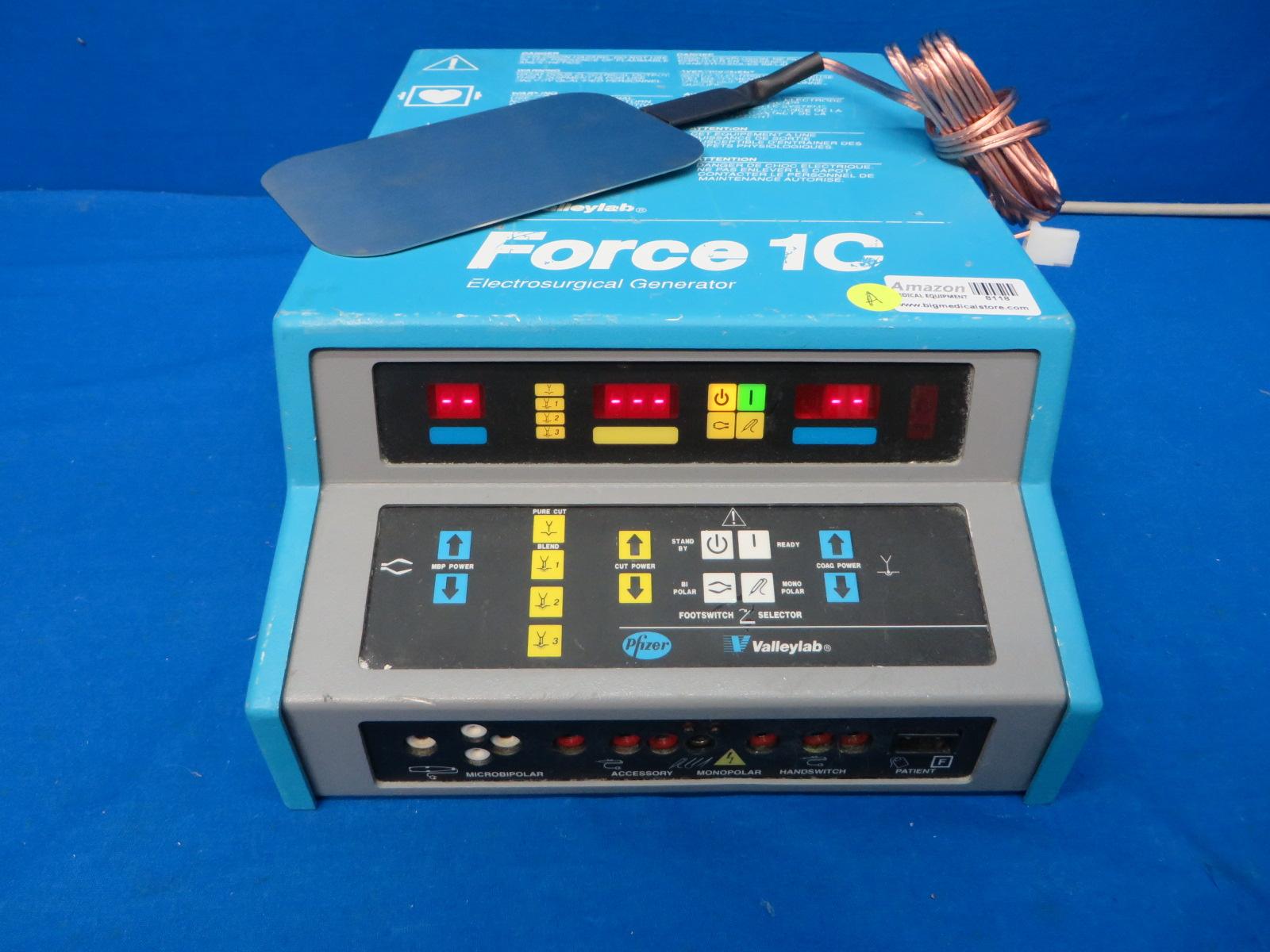 Valleylab Force 1c Electrosurgical Generator Esu With