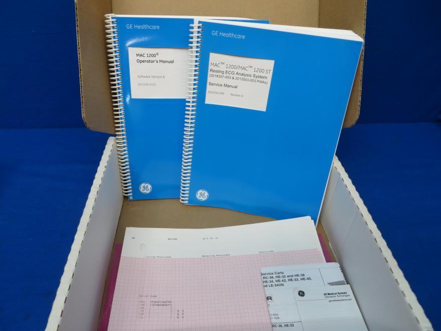 Ge mac 1200 ecg analysis system service manual | electrical.