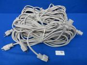 10 QTY SJT 3/C 18AWG105C 300V VW-1 E313367 100030-765 Hospital Grade Power Cords, 90 Day Warranty