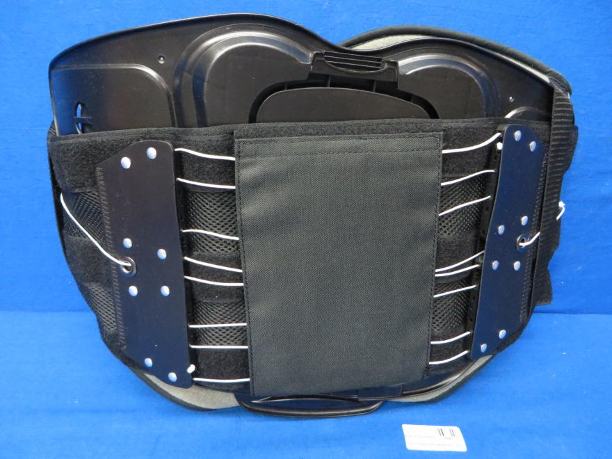 Aspen Medical Grade Back Brace-Quickdraw PRO Regular-Medium Black, 90 Day Warranty