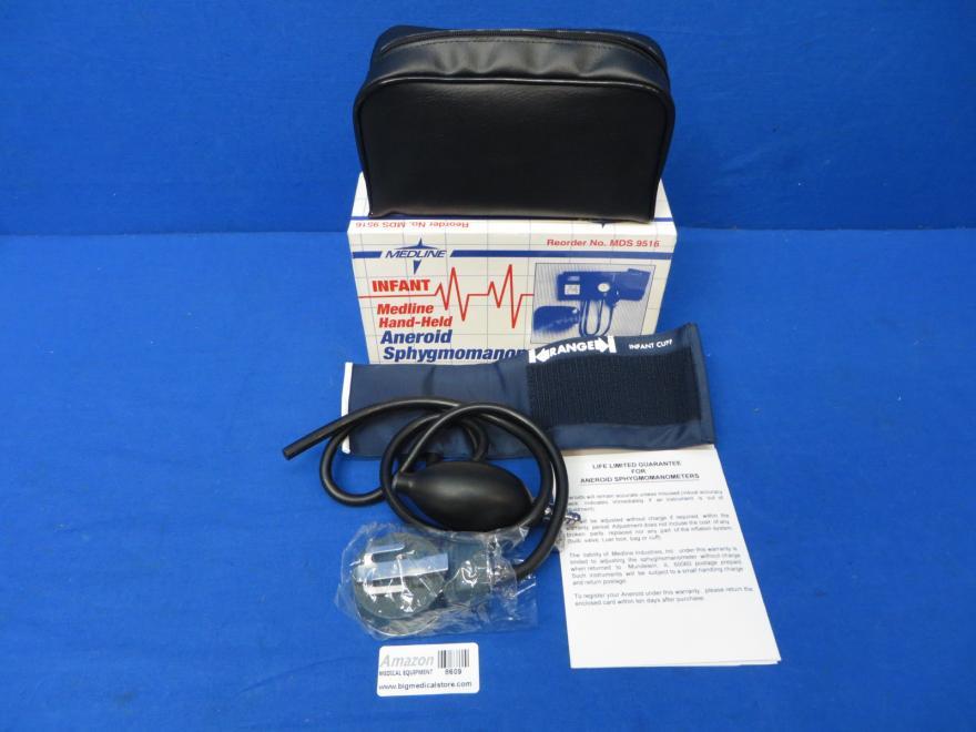 Medline 6515-00-NIB-0115 Dual-Head Stethoscope, 90 Day Warranty