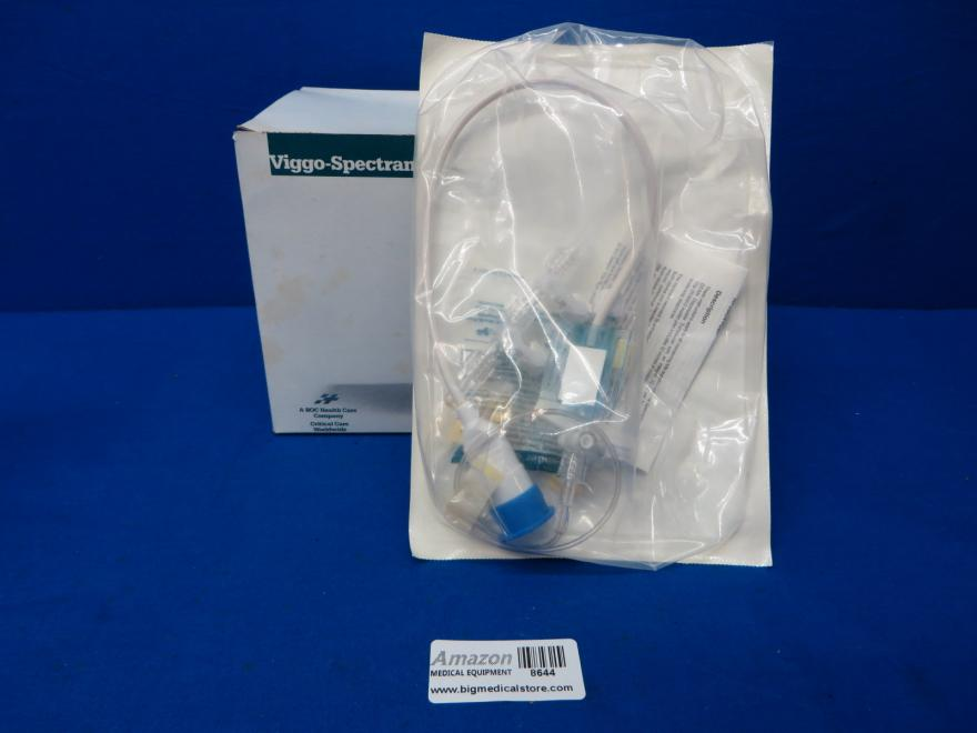 Viggo-Spectramed Gould DT-NN12 Transducer with 12 Pediatric Pressure Tubingor Neonatal Monitoring, Box of 10, 90 Day Wa