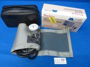 Mabis Healthcare Inc Precision Aneroid Shygmomanometer with Grey Cotton Cuff, 90 Day Warranty