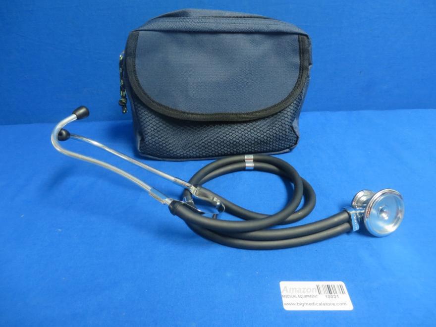 Pocket Nurse Stethoscope with Pouch, 90 Day Warranty