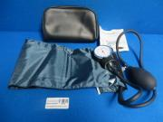 Aneroid Sphygmomanometer with Cuff ''1 Count, Navy Blue (Cuff), 90 Day Warranty