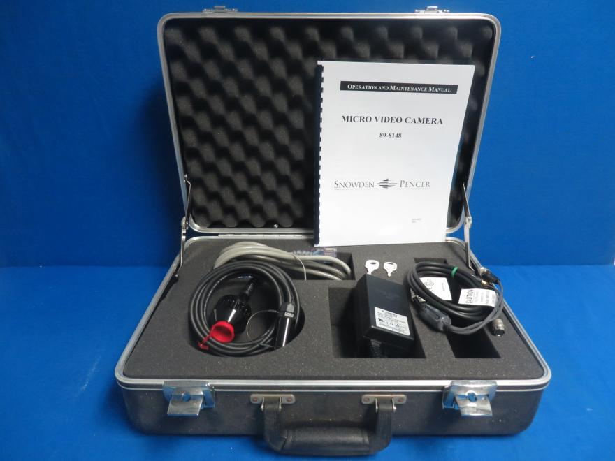 Snowden Pencer 89-8148 Micro Video Camera, with Case and Manual, and 90 Day Warranty