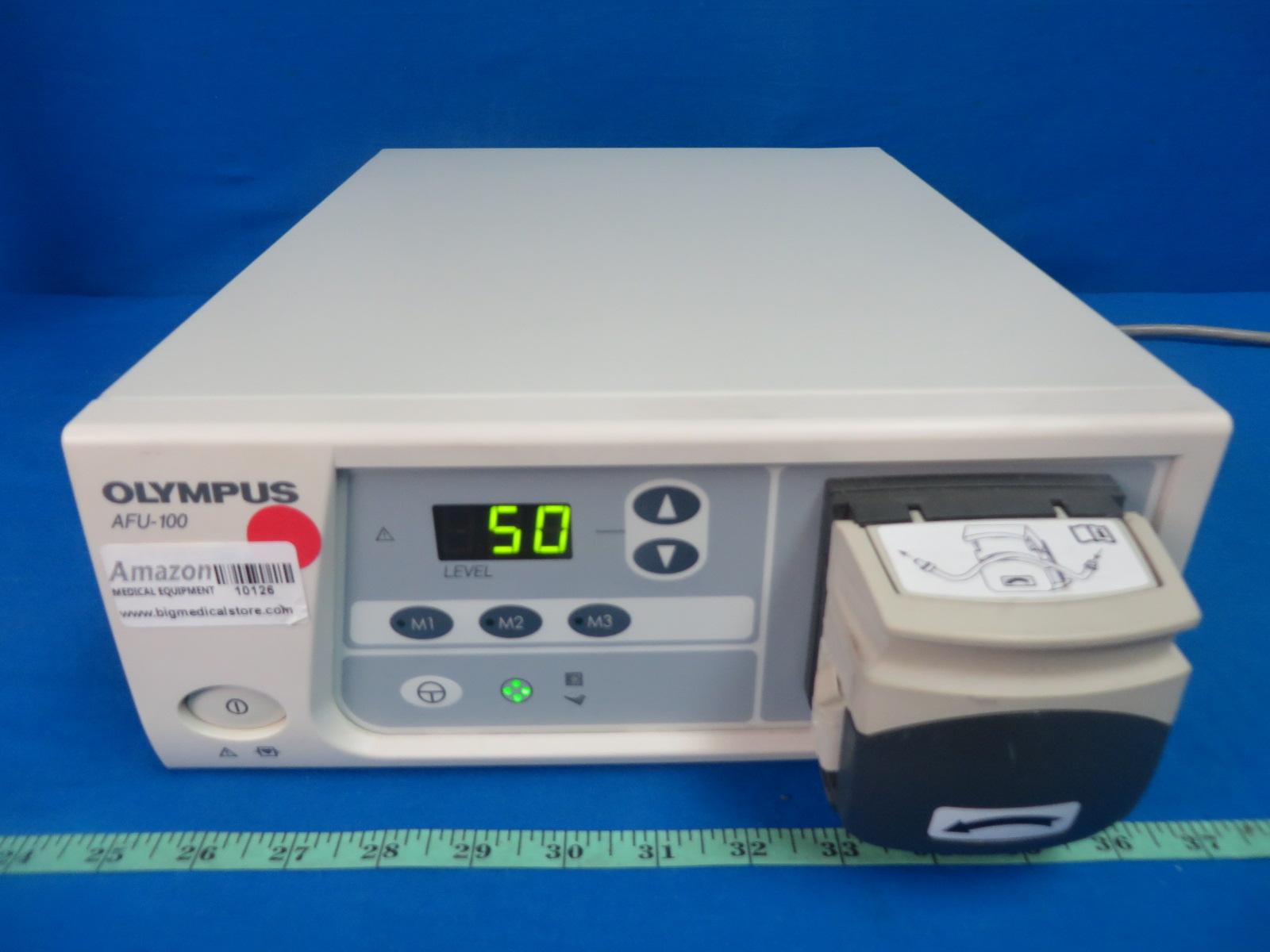 olympus afu 100 flushing pump endoscopy surgical 90 days warranty rh bigmedicalstore com Olympus Scope Reprocessing Olympus Endoscope Flushing Pump