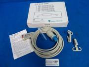 Daytex Ohmeda 545302 ECG Trunk Cable 3 Lead 3M 10 Feet A Ami with Clips, 90 Day Warranty