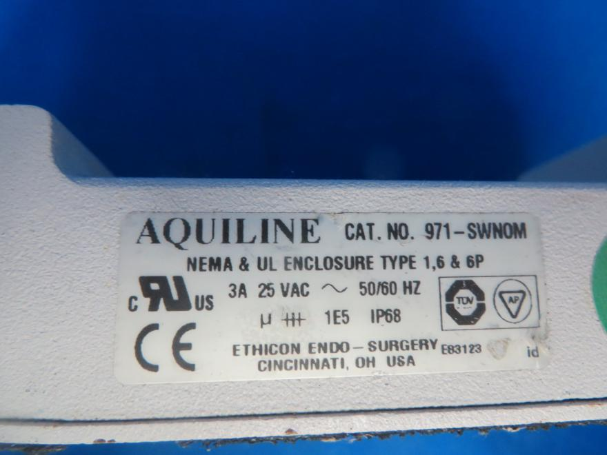 Aqualine 971-SWNOM Ultracision Harmonic Scalpel Endo Surgery Footswitch, 90 Day Warranty