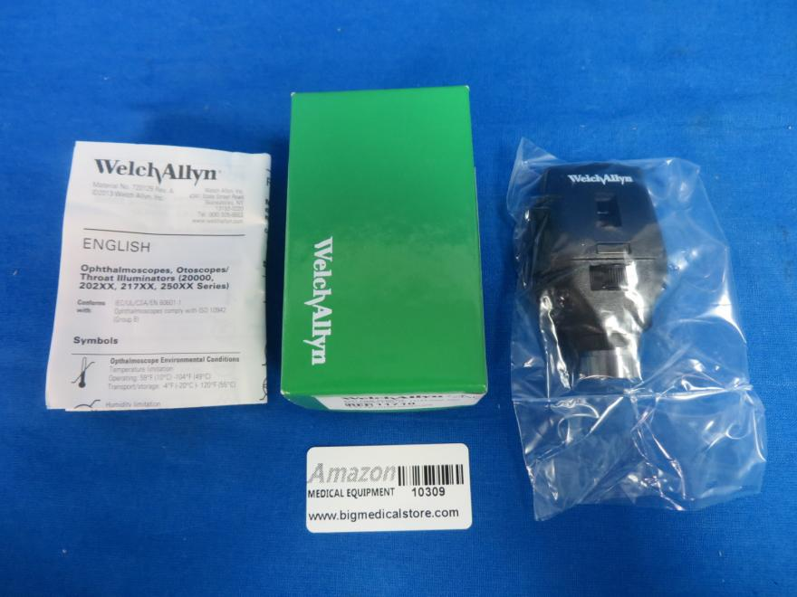 Welch Allyn 11710 Ophthalmoscope Head 3.5V, New In Box with Manual, 90 Day Warranty
