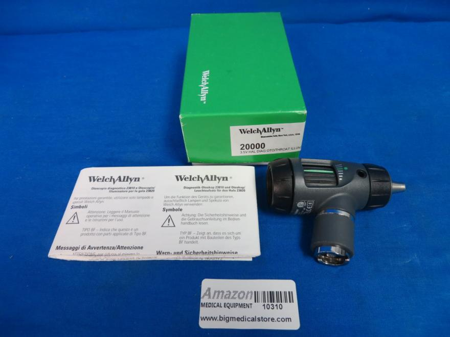 Welch Allyn 23810 Macroview Otoscope with Manual, 90 Day Warranty