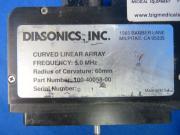 Diasonics, Inc. 100-40058-00 Ultrasound Abdominal Curved Probe, 90 Day Warranty
