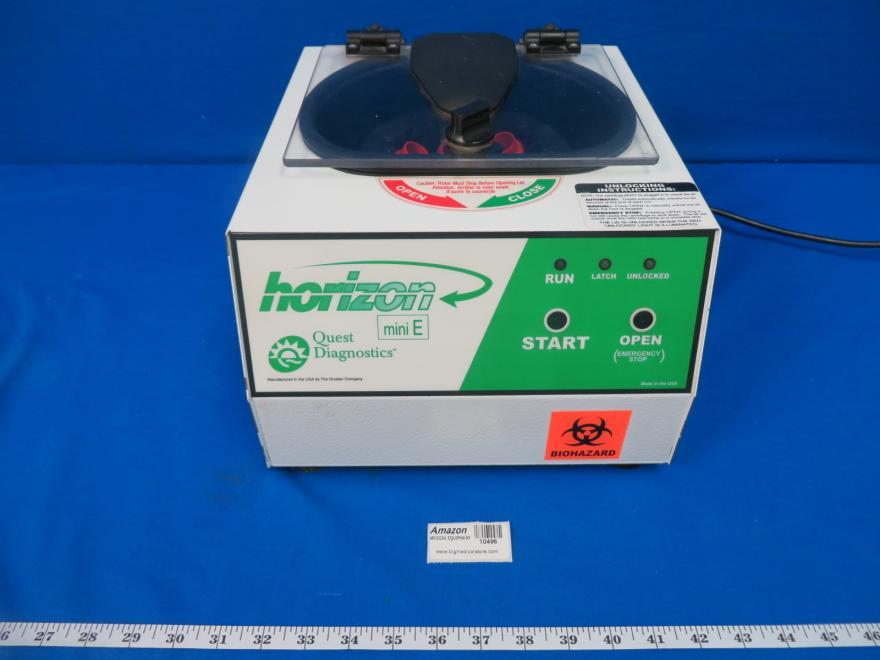Drucker 624E Quest Quest Diagnostics Mini E Centrifuge, 90 Day Warranty