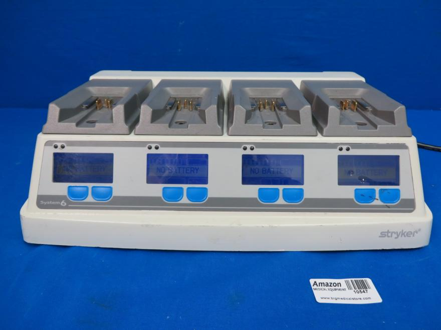 Stryker 6110-120 System 6 Battery Charger, 90 Day Warranty