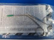 Boss Instruments, LTD 90-2025 Hartman Ear Forceps, Delicate 2X6mm Jaws, 90 Day Warranty