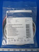 Covidien 31248910A Kendall Lead Wires Red, White, Brown, Green, and Black, 90 Day Warranty