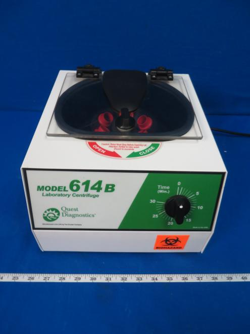 Drucker 614B Quest Laboratory Centrifuge, with 90 Day Warranty