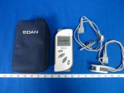 Edan H100B Pulse Oximeter with Two Finger Sensors and Powers on with Four AA Battery's, 90 Day Warranty