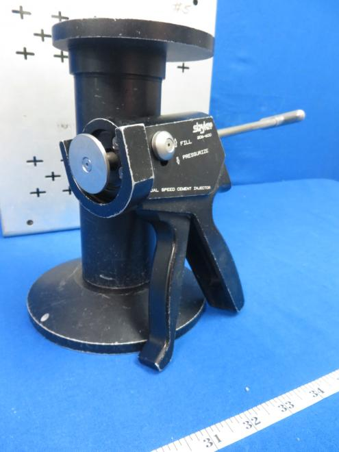 Stryker 206-600 Dual Speed Cement Injector with more, 90 Day Warranty