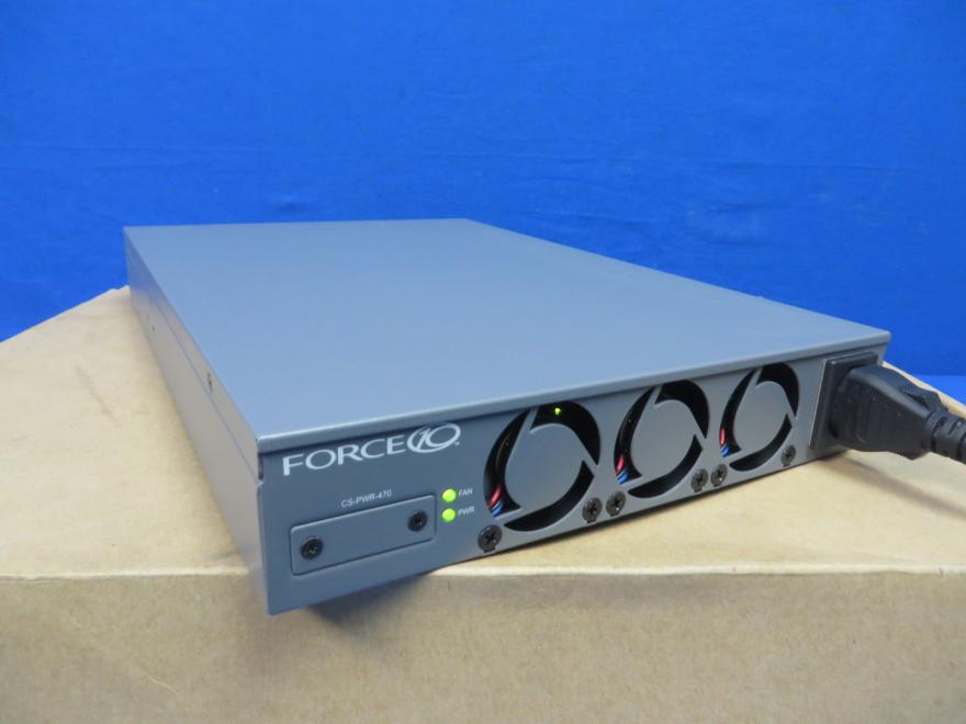 Force 10 S50-01-PSU-V Redundant Power Supply Like New in Original Box with Wall Mount, 90 Day Warranty