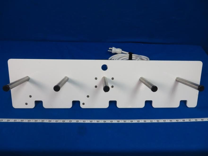 Pryor Projects OR Room Pole Clap Accessories with Hospital Grade Power Strip, 90 Day Warranty