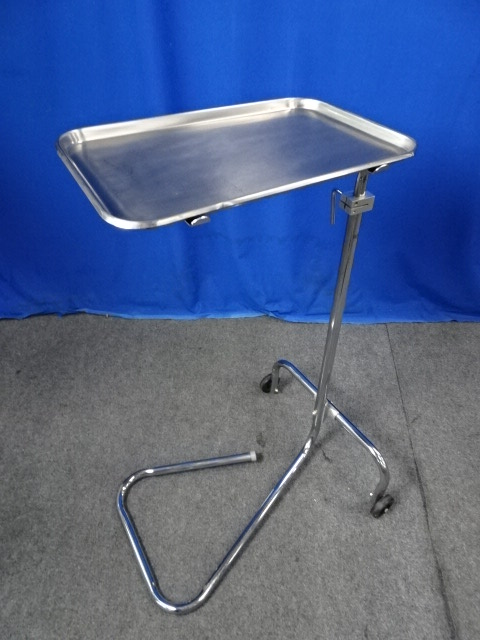 Lumex Stainless Steel Mayo Stand, 90 Days Warranty