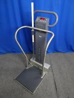 Scale-Tronix 5002 Mobile Stand-On Digital Scale with Height Bar, 90 Days Warranty