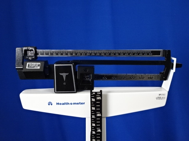 Health-O-Meter Dual Measurements Scale with Height Bar, 90 Day Warranty