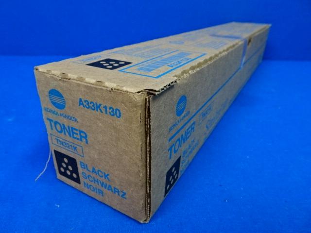 Konica Minolta Simitri HD TN321K Black Toner A33K130, 90 Days Warranty