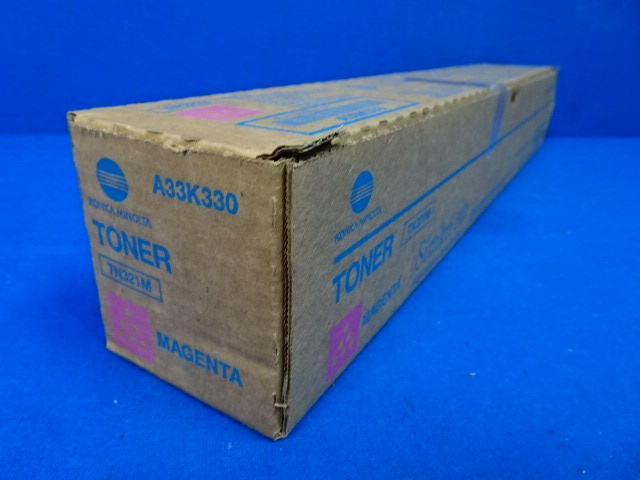 Konica Minolta Simitri HD TN321M Magenta Toner A33K330, 90 Days Warranty