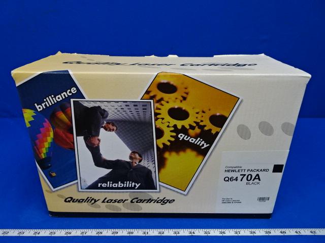 HP Q6470A Hewlett Packard Black Compatible Cartridge, 90 Day Warranty