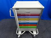 Armstrong Medical Smart Anesthesia Crash Cart Top with Pullout Side Table, 90 Day Warranty