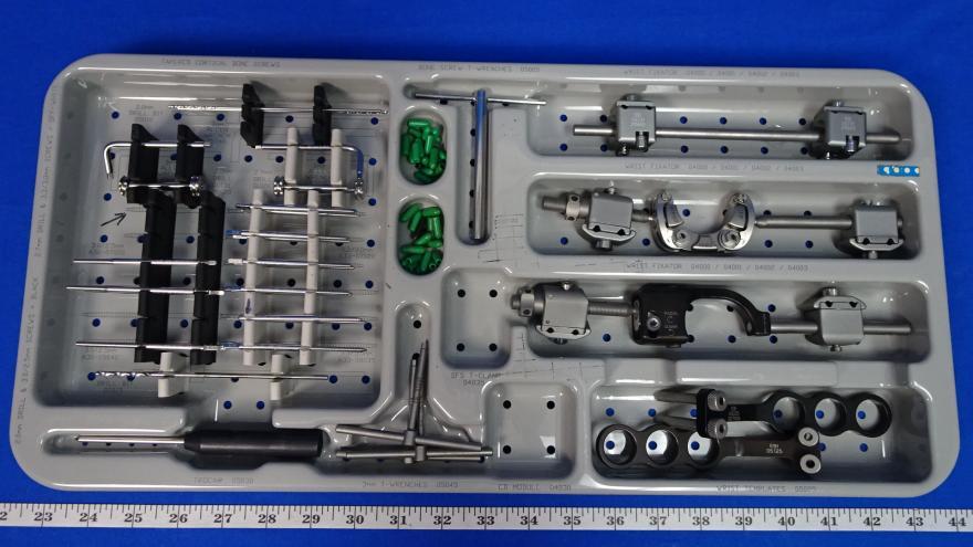 EBI XFix DynaFix System DFS Distal Radius Instrumentation Set, 90 Days Warranty