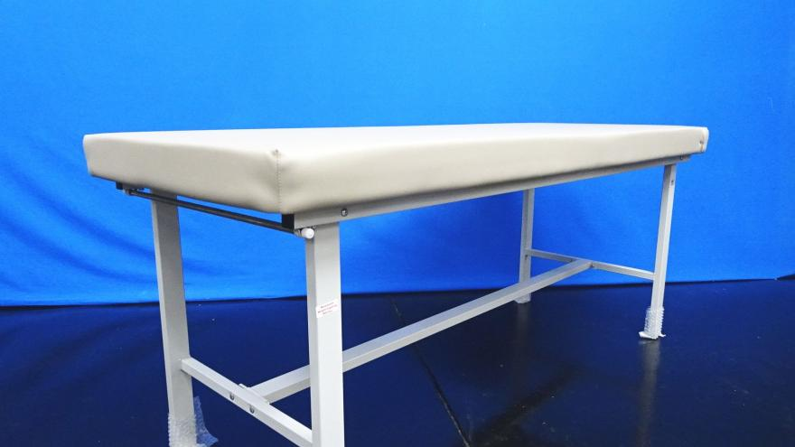 Winco 850 Tan Flat Top Treatment Table with Paper Rod72X28X30 Max Weight Capacity: 400lbs, 90 Days Warranty