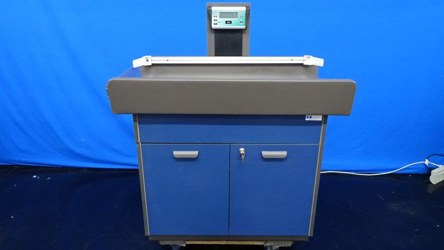 Clinton Pediatric Two Door Exam Table with Digital Scale, 90 Day Warranty