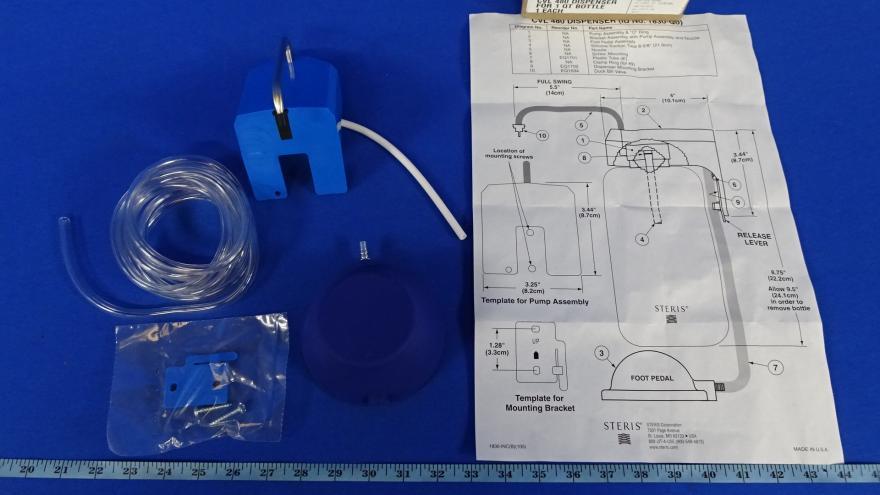 Steris 1830Q0 CVL 480 Dispenser for 1 Qt Bottle, 90 Day Warranty