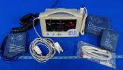 Casmed 740 Vital Signs Monitor With Battery, Temperature Probe And Blood Pressure Cuff, 90 Day Warranty