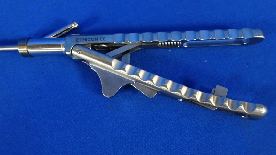 Ethicon E 705R Laparoscopic Needle Holder, 90 Day Warranty